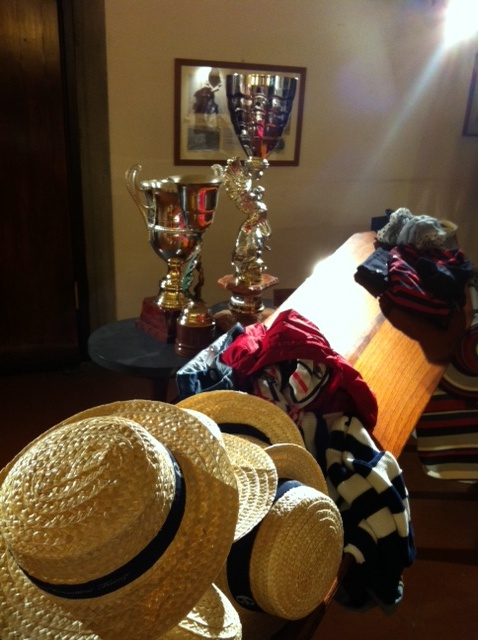 Conte of Florence 2013 Spring Summer Collection #Canottieri #Firenze #rowing #hat #straw