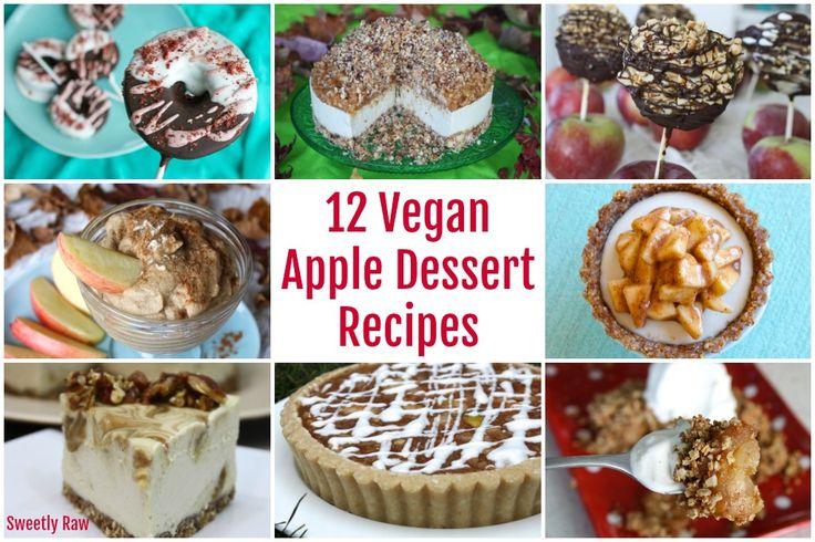 12 Raw Vegan Apple Dessert Recipes - Sweetly RawSweetly Raw