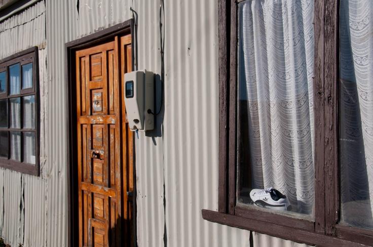 Shoe in the window...
