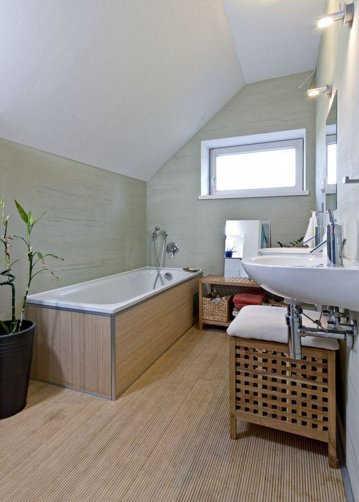 Koupelna je hned vedle ložnice.
