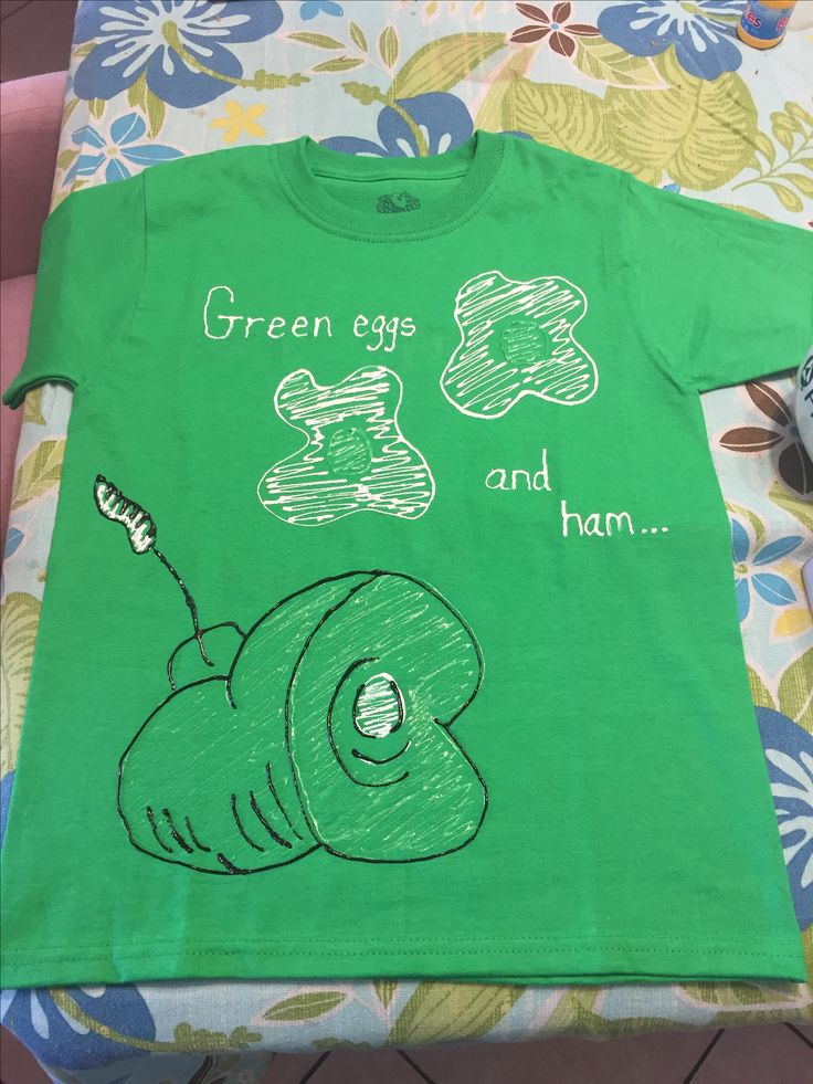 Green Eggs And Ham Diy T Shirts Ideas For Liam Dr