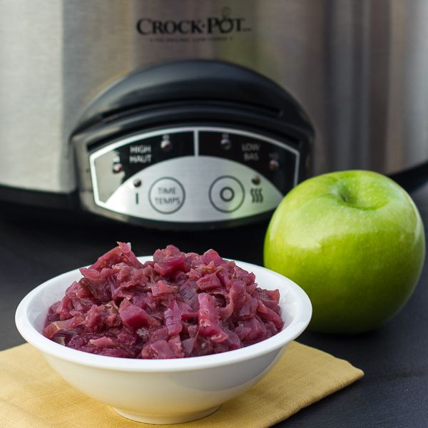 Red Cabbage and Apples - Slow Cooker Recipe