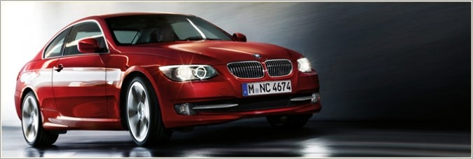 BMW 3 Series Coupé  LED light design.    Great perspectives and even better views: the BMW 3 Series Coupé captivates at night with its standard BMW Dynamic Xenon headlights. LED technology in the corona rings also reduces energy consumption.