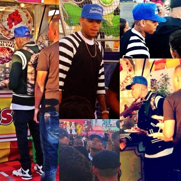 ChrisBrown at the OC Fair via @TeamBreezyy4eva #mtvhottest Chris Brown