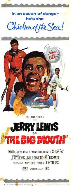 The Big Mouth (1967) Stars: Jerry Lewis, Harold J. Stone, Susan Bay, Buddy Lester, Leonard Stone, Charlie Callas, Jeannine Riley ~  Director: Jerry Lewis