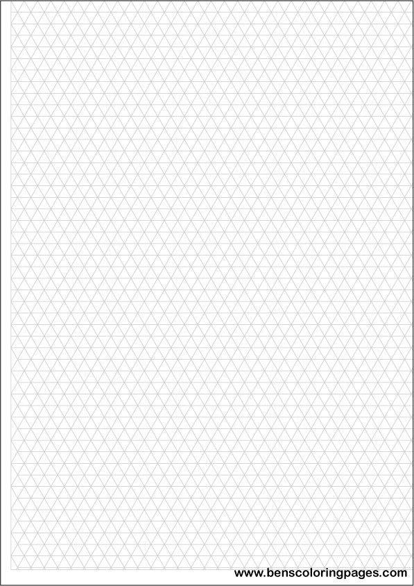 As 25 melhores ideias de Isometric grid no Pinterest Design - isometric graph paper