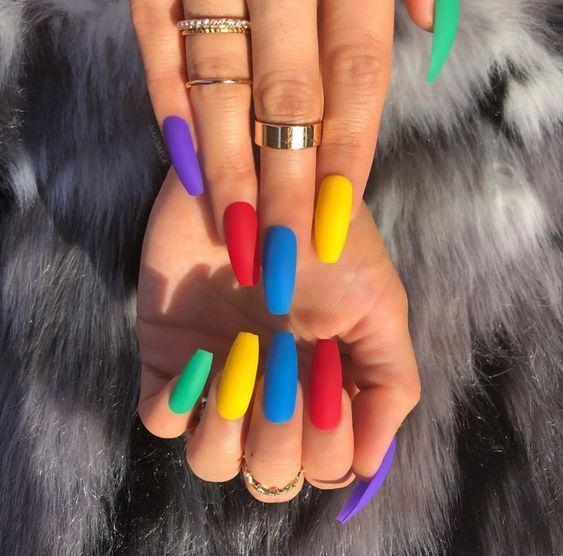 20 colors of Trend 2018 nail polish # gel nails – Long Nails