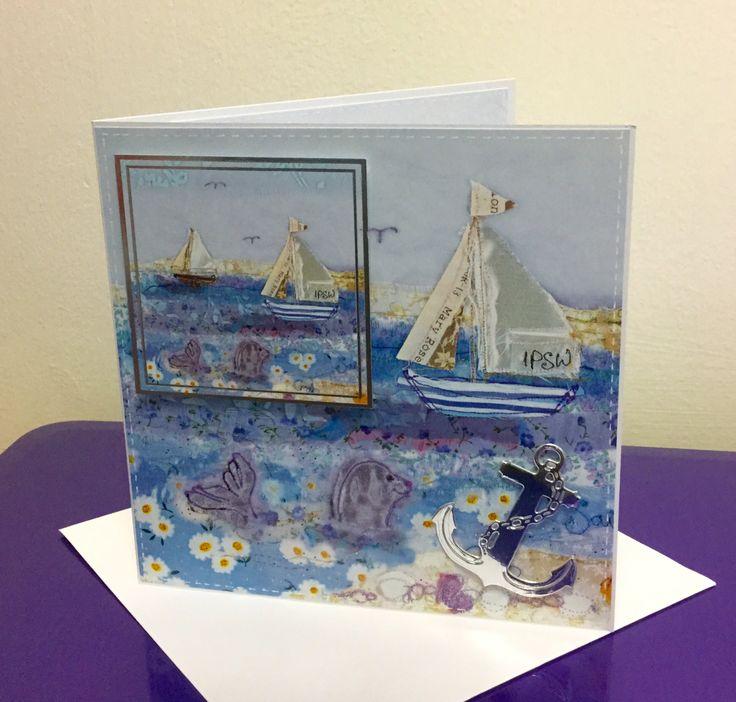 Sail Away, Halcyon Days, Crafters Companion