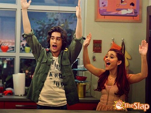Avan Jogia & Ariana Grande on Victorious