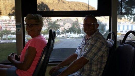 Mor og Jimmi på bustur