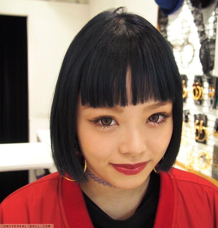Amazing makeup look! Fig and viper shop staff in La Foret Harajuku