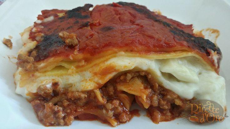 Lasagne alla Bolognese la ricetta di Ricette D'Oro