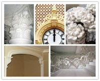 Manufacturer to supply a large number of GRG. GRG ceiling gesso line / / customized special gypsum plaster cornice line