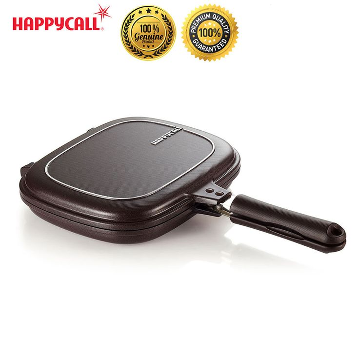 Happycall Nonstick Double Sided Pressure IH Plasma Titanium Induction Frying Pan #Happycall