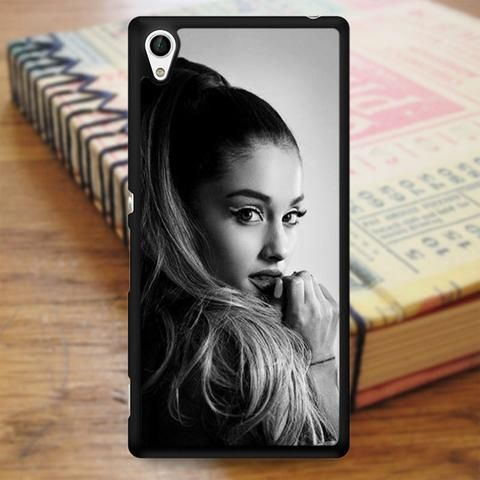 Ariana Grande Black And White Sony Experia Z4 Case