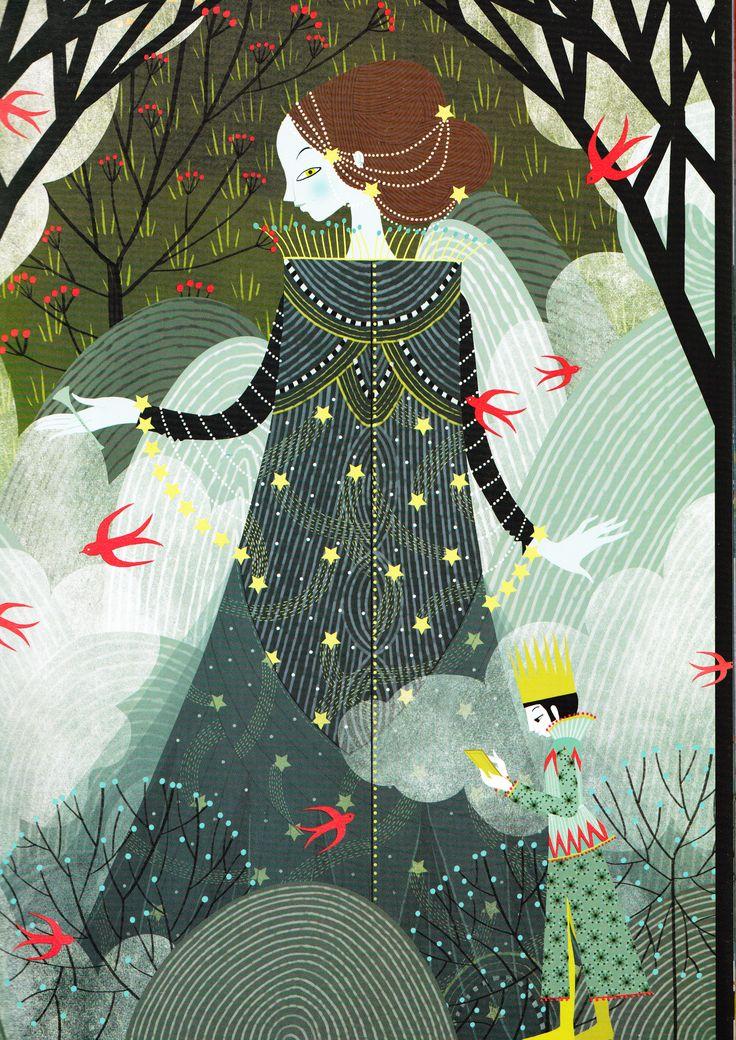 La flûte enchantée – d'après Mozart ( Pierre Coran ) – avec les illustrations…