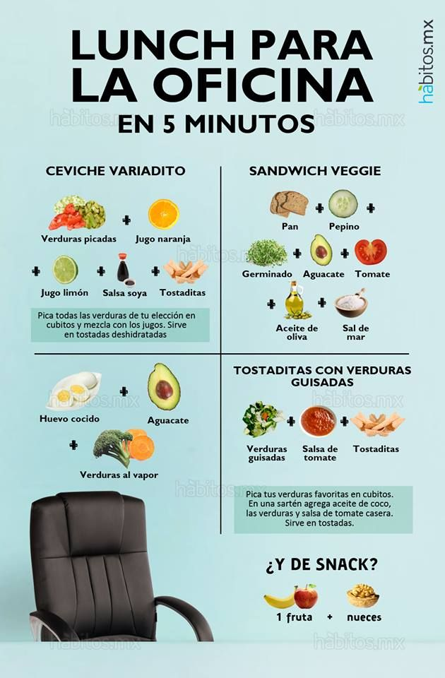 Hábitos Health Coaching | LUNCH PARA LA OFICINA EN 5 MINUTOS