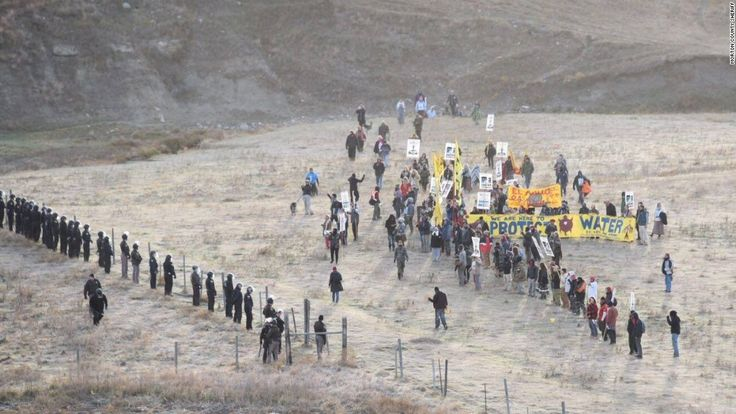 Demonstrations against construction of the Dakota Access Pipeline ramped up over the weekend, resulting in dozens of arrests and a highway closure, authorities in North Dakota said.