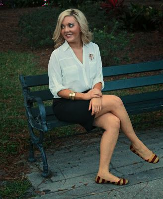 Wear your #FSU Seminole pride to the #office for the #BCS National Championship Game #FloridaState #Seminoles #GoNoles #Tallahassee #college #football #gameday #fashion www.thestyleref.com