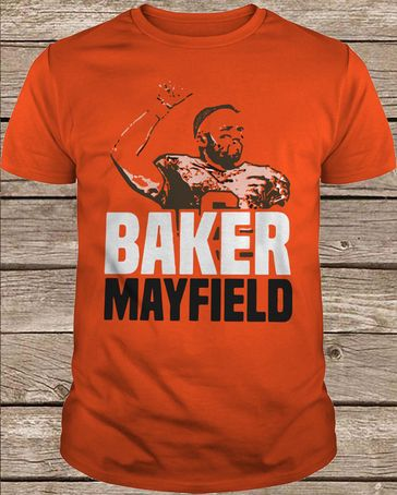 best service f6879 c4e0b Nike Baker Mayfield Barstool t shirt in 2019 | t shirt ...