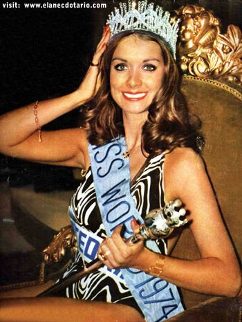 miss world 1974 - Google Search