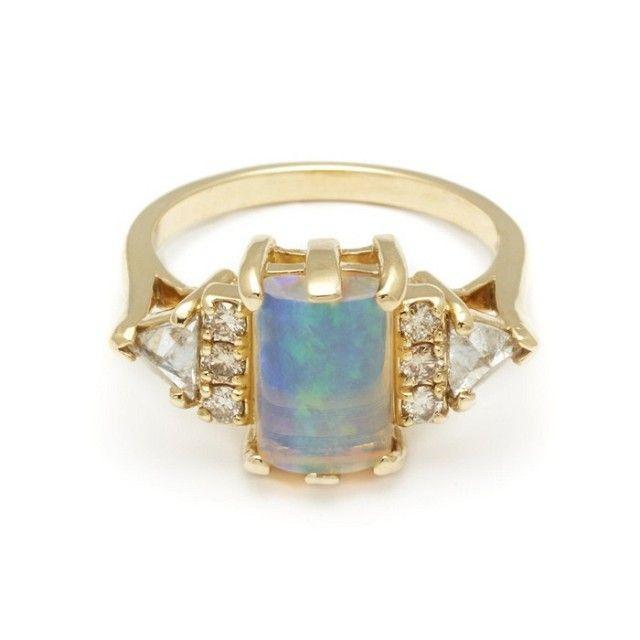 Anna Sheffield Bea Opal Ring