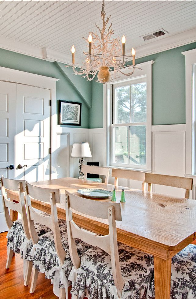 157 best images about blue rooms teal on pinterest blue for Best dining room paint colors sherwin williams