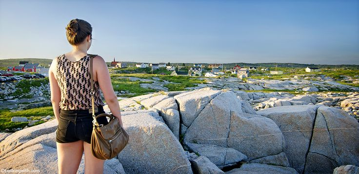 Looking With Jeanvieve  At the Peggy's Cove charming fishing village.  The village was formally founded in 1811 when the Province of Nova Scotia issued a land grant of more than 800 acres (320 ha) to six families ofGerman descent... #LookingWith #photography #travel #Halifax #PeggysCove #NovaScotia #Canada