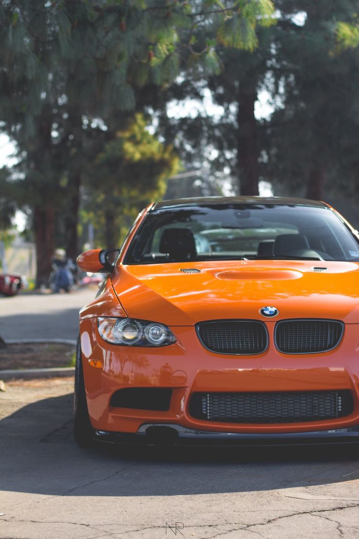 BMW M3 | BMW | M series | sedan | orange | modern