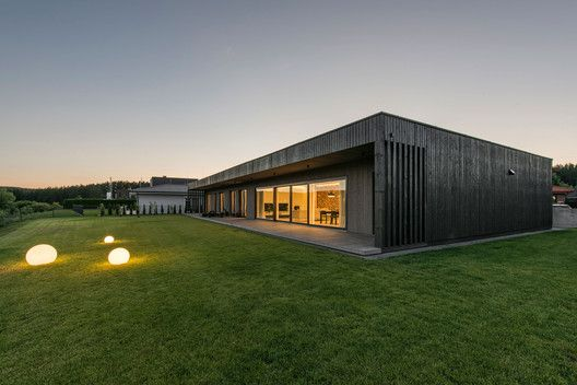 Black Box House / PAO Architects - Lithuania © Leonas Garbačiauskas