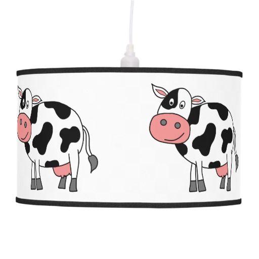 Cute Cow Hanging Lamp