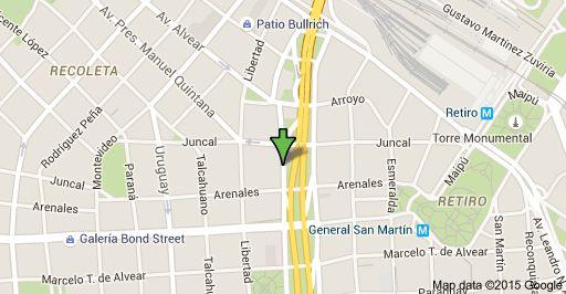 Map of Cerrito 1250, C1010AAZ CABA
