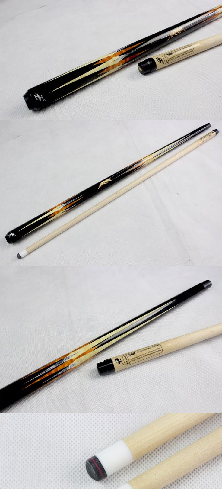 Cue Tips 75188: New Taco De Sinuca Pool Cues Billiard 13Mm Tips 1 2 Jointed Pool Cue Stick China -> BUY IT NOW ONLY: $132.72 on eBay!