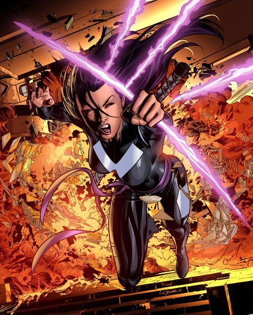 PYSLOCKE X-Force •Mike Deodato Jr.