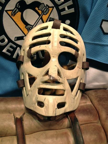 Marv edwards vintage goalie masks
