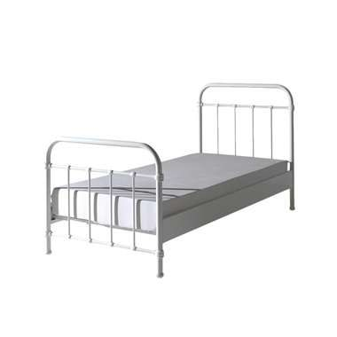 Vipack bed New York - wit - 90x200 cm