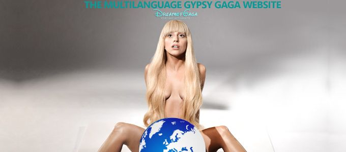 The First 'Multilanguage Gypsy Lady Gaga' Website
