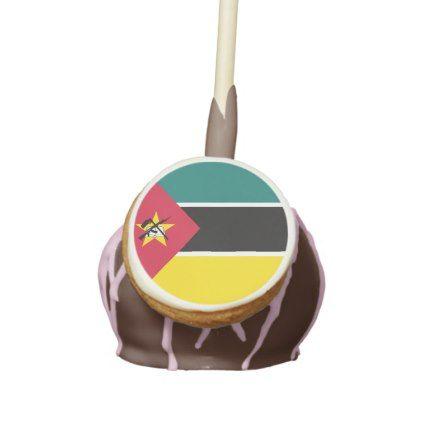 #Mozambique Flag Cake Pops - #Chocolates #Treats #chocolate