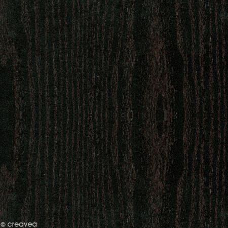 Adhésif décoratif bois - Bois noir 45 cm x 3 m http://www.creavea.com/adhesif-decoratif-bois-bois-noir-45-cm-x-3-m_boutique-acheter-loisirs-creatifs_39373.html