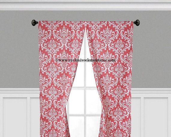 17 Best Ideas About Coral Curtains On Pinterest Bedroom Color Schemes Color Palate And