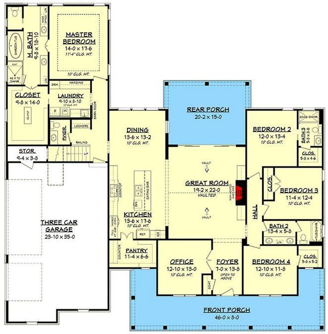 40 Up In Arms About House Plan Southern Car Garage 128 Caredecors Com Bedroom House Plans 4 Bedroom House Plans New House Plans