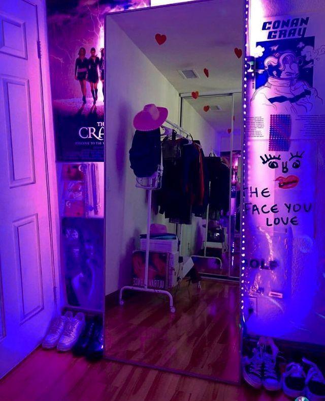 2020 Lighting Inspiration Beautiful Dorm Room Room Ideas Bedroom Aesthetic Bedroom