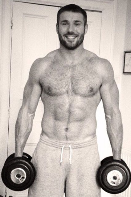 His wife is lucky! Imagine coming home to Ben Cohen.