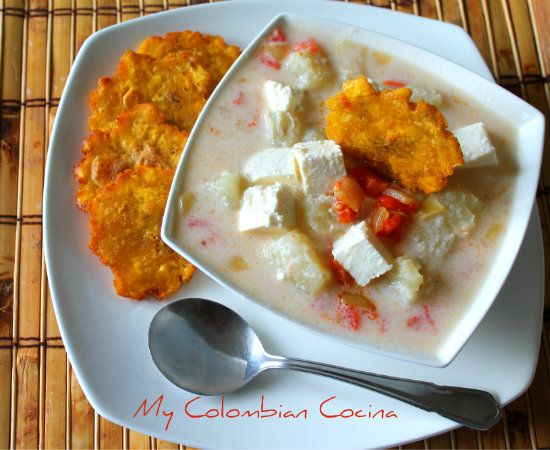 My Colombian Cocina - Mote de Queso or Yam Soup