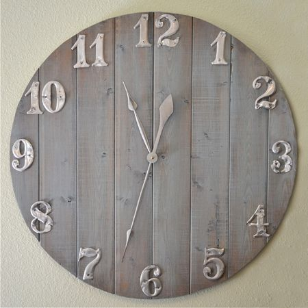 How to make a large clock!