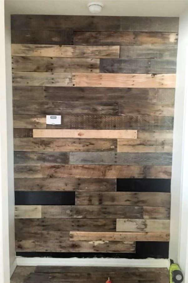 30 Best Wood Wall Ideas To Transform Any Room Crazy Laura In 2020 Wooden Pallet Projects Pallet Wall Pallet Diy