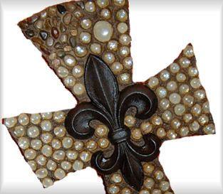 decorative wooden crosses   Cross, decorative cross,rock cross,mosaic cross, beaded cross, wall ...