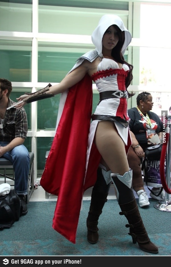 Ezio Feminino from Assasians Creed. Is it sad that I kiiinda wanna be this for Halloween?