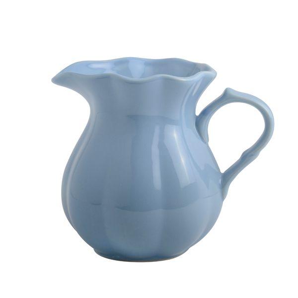 Dzbanuszek ceramiczny nordic sky Mynte,shabby chic, styl skandynawski