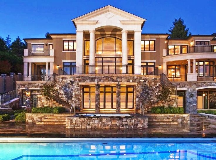 Huge Houses With A Pool the 25+ best huge mansions ideas on pinterest | big homes, big